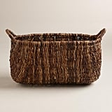 Cost Plus World Market Oval Madras Lorenzo Basket ($49.99)