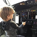 Looks like Edward Duke could be flying you to your next vacation destination in the future —or Bill and Giuliana Rancic will have their own private pilot!