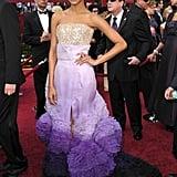 Zoe Saldana at the 2010 Academy Awards