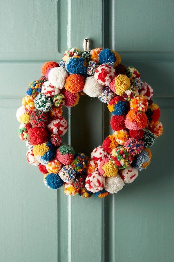 Pom Bonanza Wreath