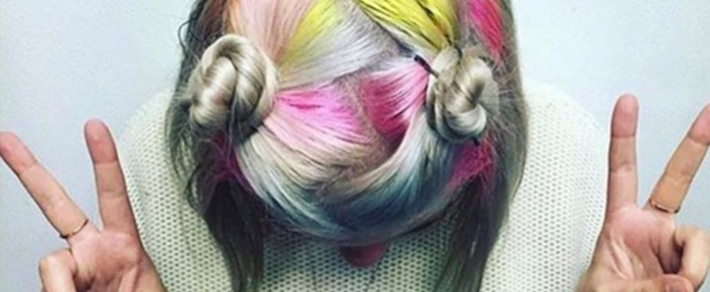 11 Photos That Prove Rainbow Roots Are More Wearable Than You Thought