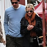 Reese and Jim dined at a casual restaurant in Brentwood.