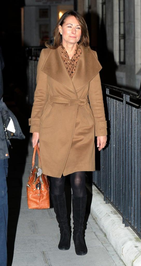 Carole Middleton in November 2012