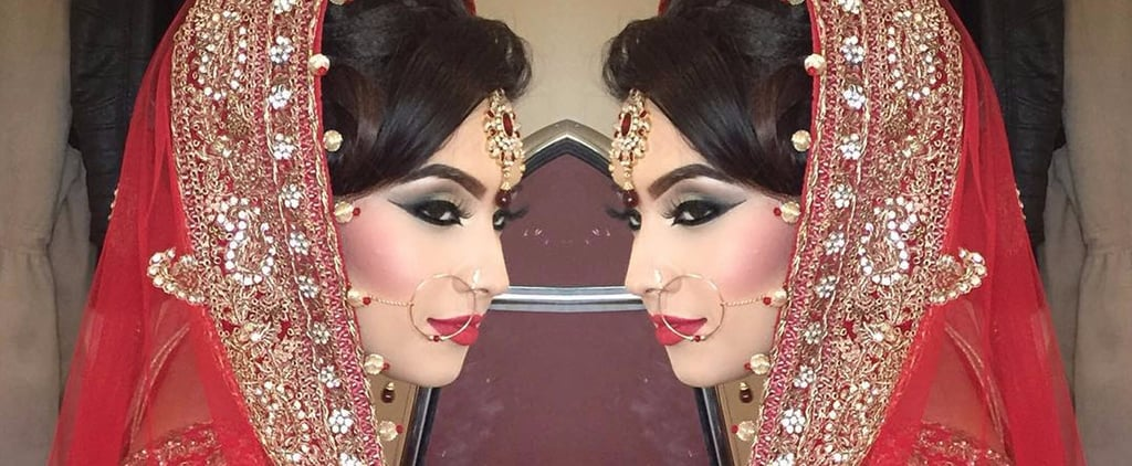Prepare to Be Mesmerized by This Elaborate Bridal Makeup Tutorial