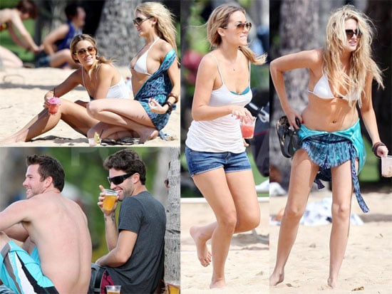 Bikini Photos of Lauren Conrad, Lo Bosworth, Stephanie Pratt With Brody Jenner in Hawaii