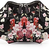 Alexander McQueen De-Manta Small Floral-Print Clutch Bag, Black Multi ($495)