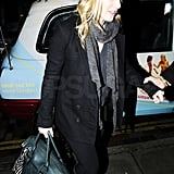 Pictures of Kate Winslet Leaving London's Scott's
