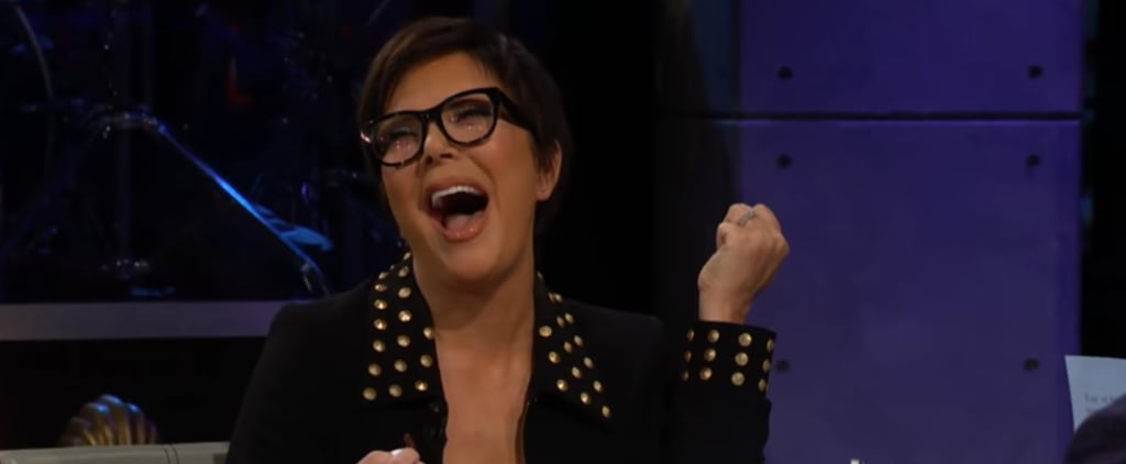 Kris Jenner Playing Spill Your Guts With James Corden