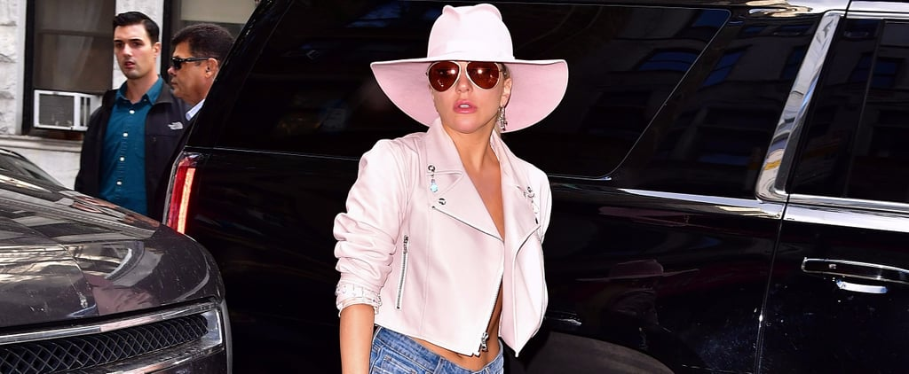 Once You See Lady Gaga Rockin' These Denim Boots, You'll Want a Pair For Yourself