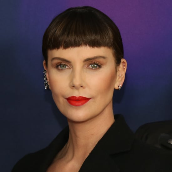 Charlize Theron's Bangs Hairstyle April 2019
