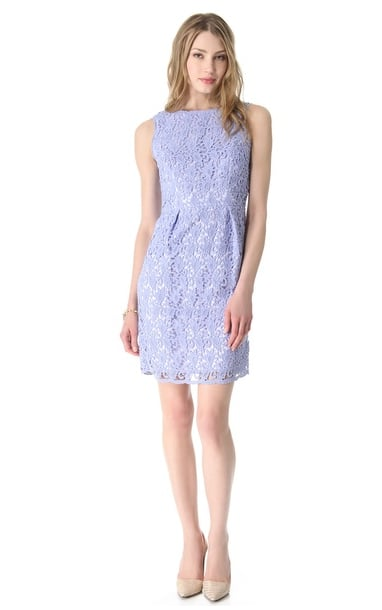 Shoshanna's Nyla lace dress ($395) is ideal for Easter Sunday — and all of your Spring and Summer wedding engagements, too.