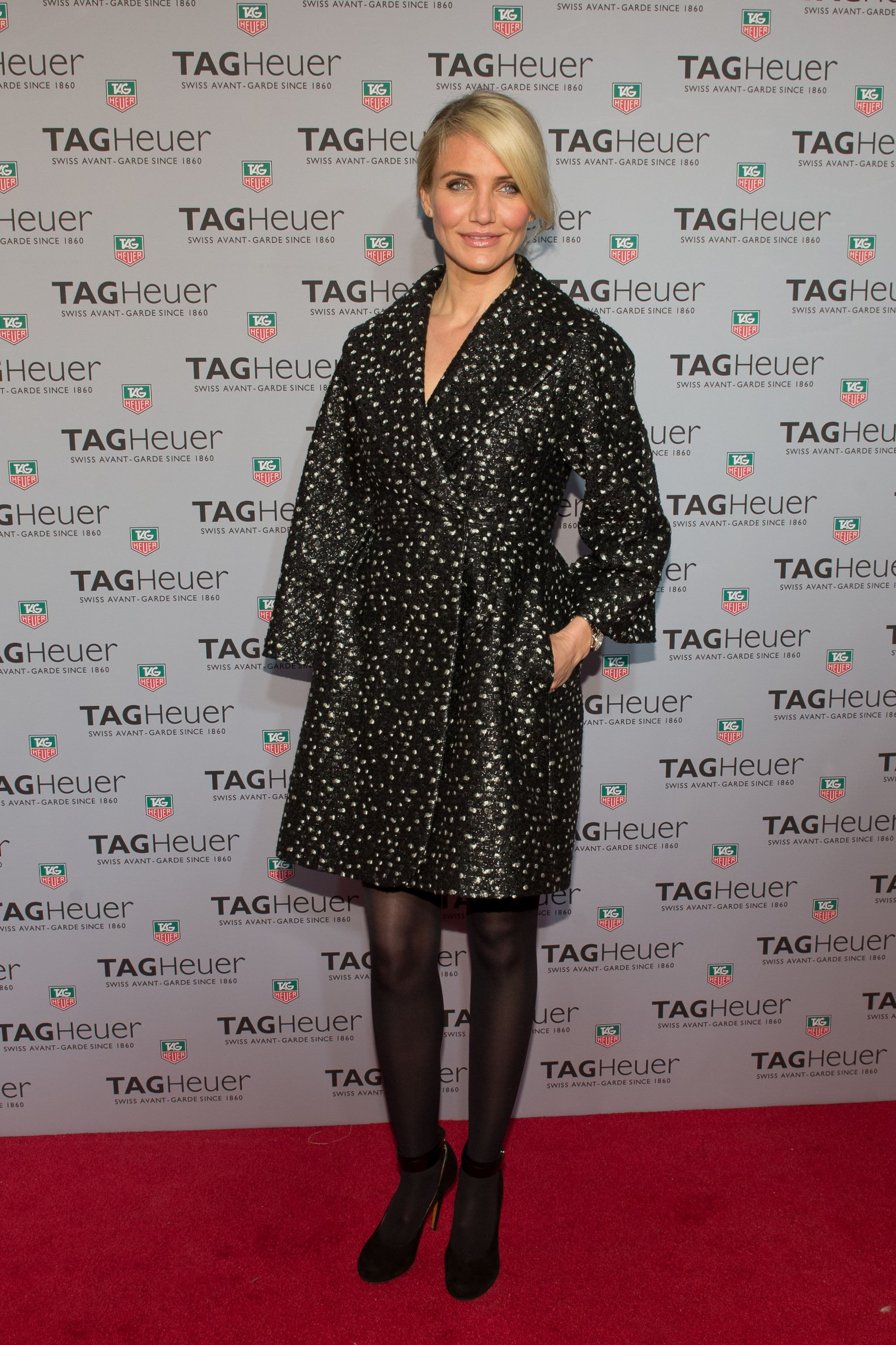 Cameron Diaz at the Tag Heuer Flagship Opening