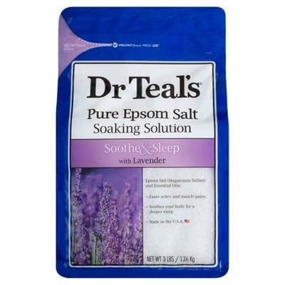 Dr. Teal's Pure Epsom Salt Soothe & Sleep Lavender Soaking Solution
