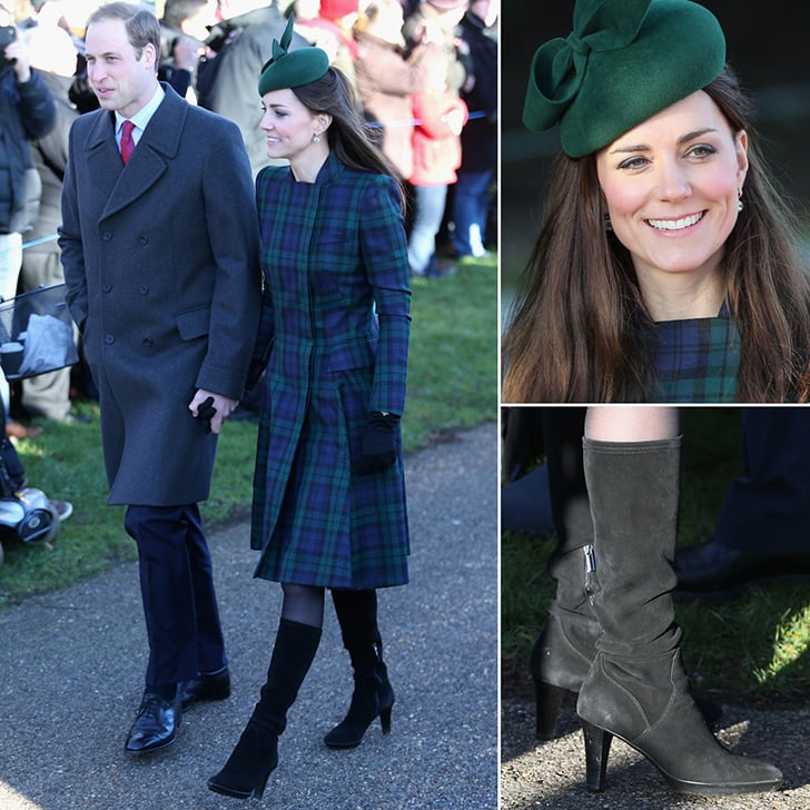 Kate Middleton Christmas Outfit 2013