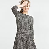 Zara Jacquard Dress (£18)