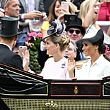 Meghan Markle Waving 2018