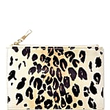 Kate Spade Cheetah Ikat Pencil Pouch
