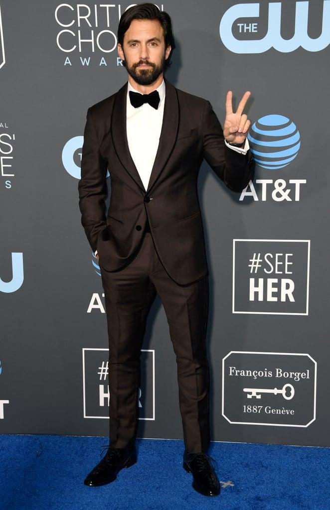 Milo Ventimiglia at the 2019 Critics' Choice Awards