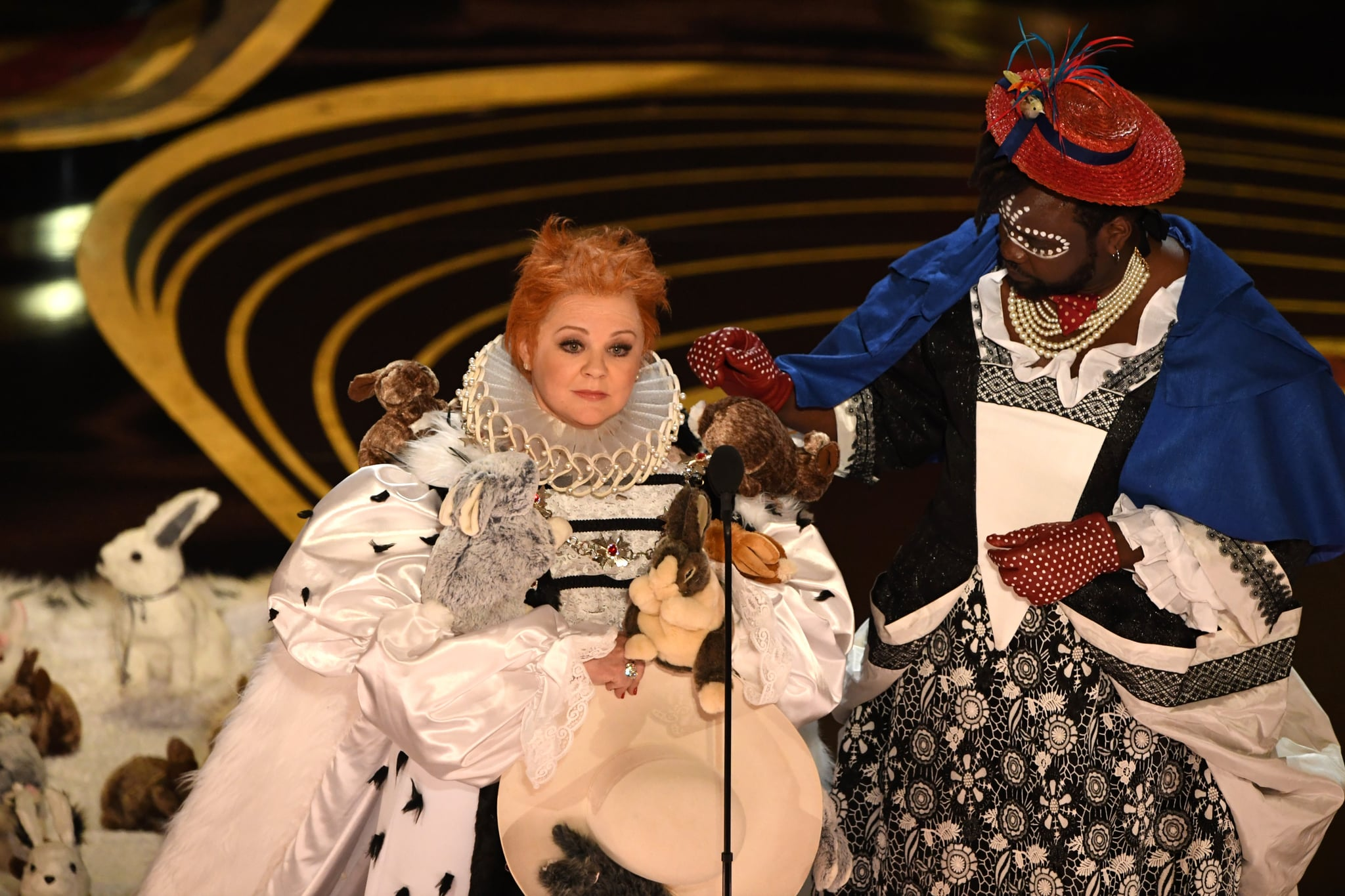 Melissa Mccarthy Brian Tyree Henry S Costumes At The Oscars Popsugar Celebrity