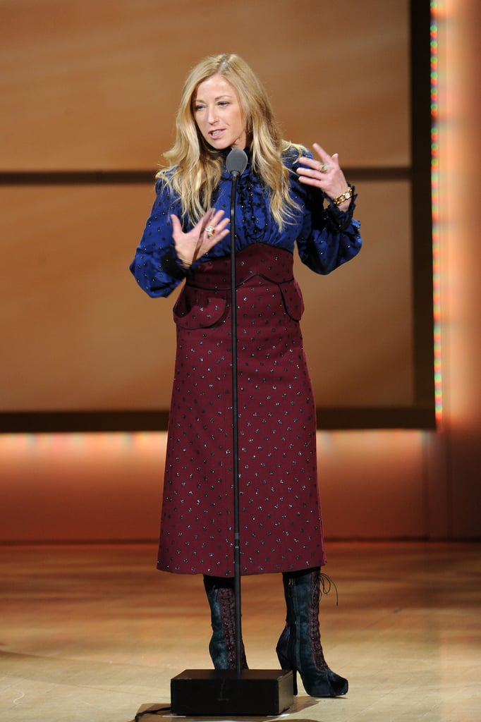 Cindy Sherman spoke at the 2011 Glamour Women of the Year Awards.
