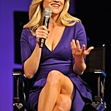 Reese Witherspoon Mixes Things Up in Purple and White