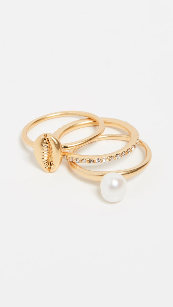 Madewell Shell Stack Ring