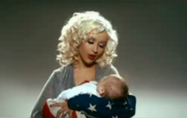 Rock the Vote Ads — New Christina vs. Vintage Madonna?
