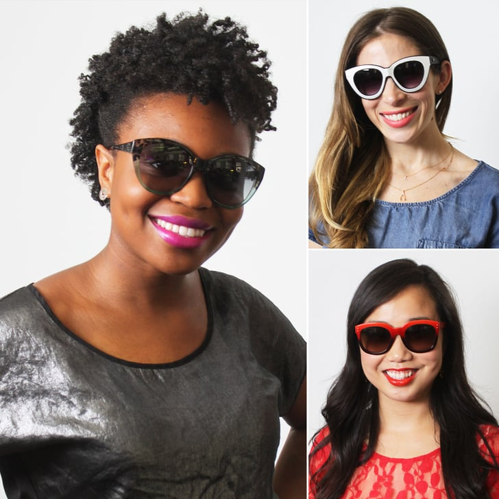 Find the Perfect Sunglasses and Lipstick Match For Your Face