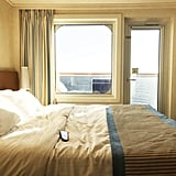 Book a cabin in the middle of the ship to avoid seasickness.