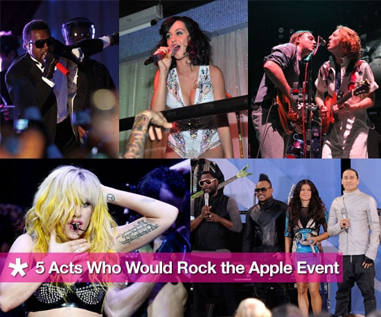 5 Musical Acts I Want to See at the Apple Event