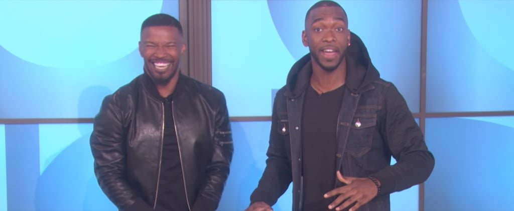 Even Jamie Foxx Can't Keep It Together During Jay Pharoah's Kanye Impression