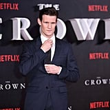 At the Premiere of The Crown