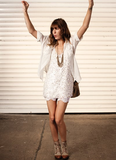 Club Monaco Spring 2011 Lookbook Part 2 Featuring Lou Doillon and Lauren Hutton