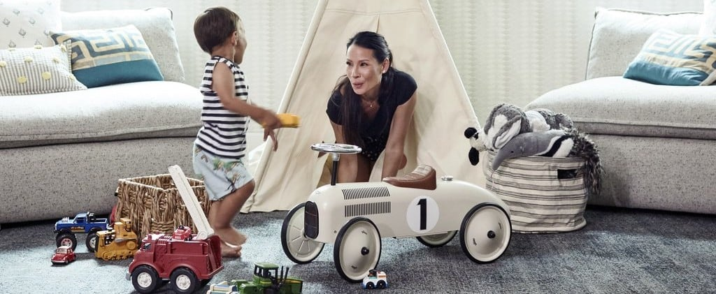 Lucy Liu's Playroom Got a Makeover, and It's Absolutely Adorable