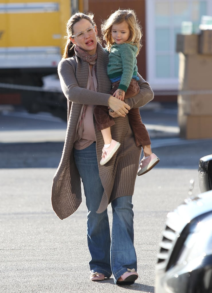 Jennifer Garner and Seraphina Affleck spent their morning together.