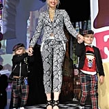 In 2011, the fashion designer had the support of Zuma and Kingston at a launch party for her Target clothing line.