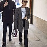 Bella Hadid in Milan