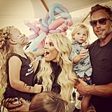 Jessica Simpson Family Pictures 2016