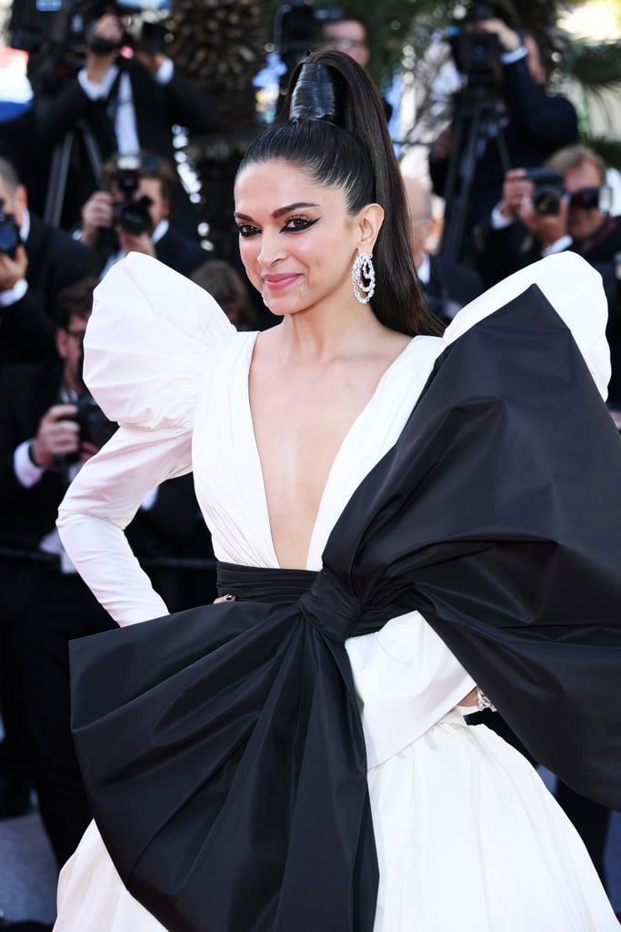 Deepika Padukone White Dress at Cannes 2019 | POPSUGAR ...