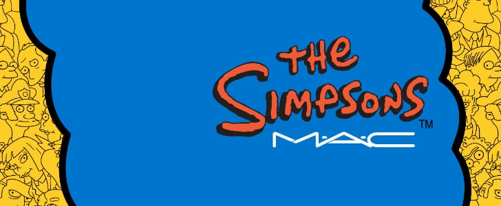See the First Images of the MAC and Simpsons Makeup Collection