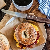 New York-Style Bacon, Egg, and Cheese Bagel Sandwich