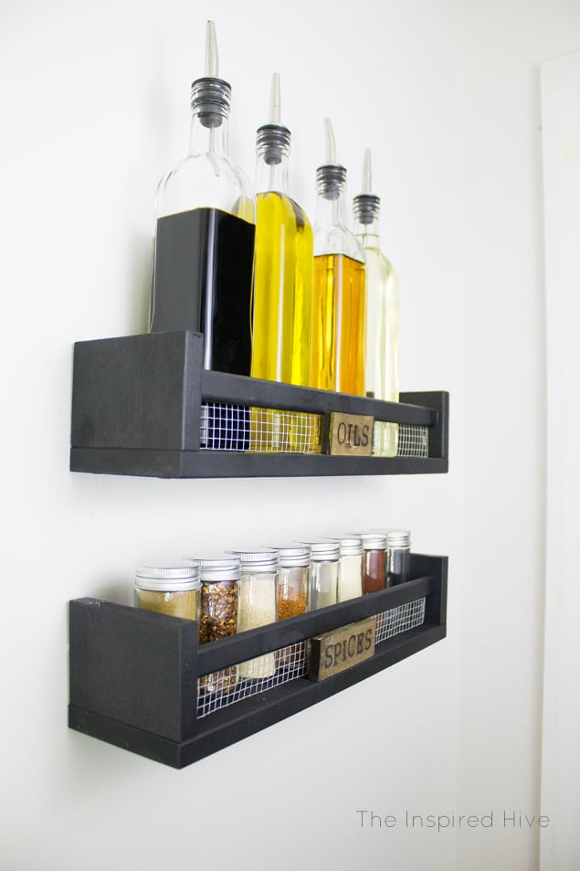 Spice rack ikea pantry hacks popsugar home photo 3 - Ikea kitchen spice rack ...