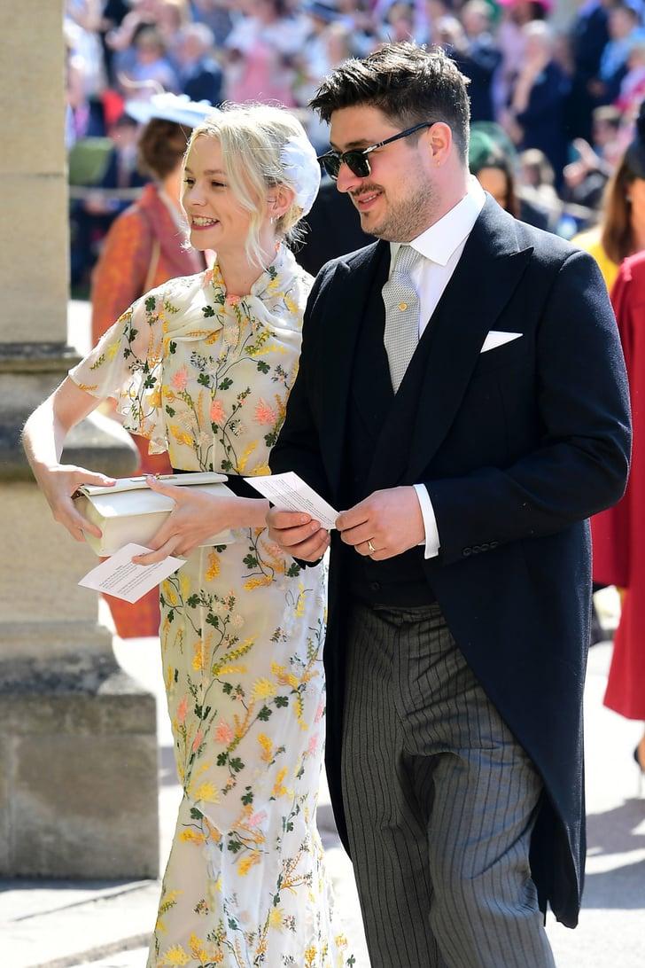 Carey Mulligan And Marcus Mumford Royal Wedding Guest