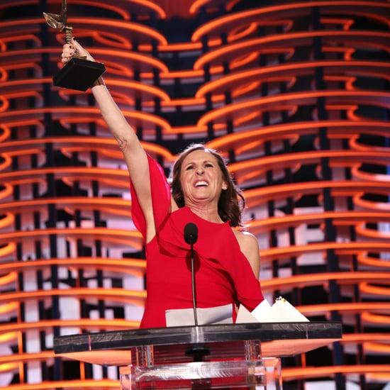 Molly Shannon Acceptance Speech at 2017 Spirit Awards