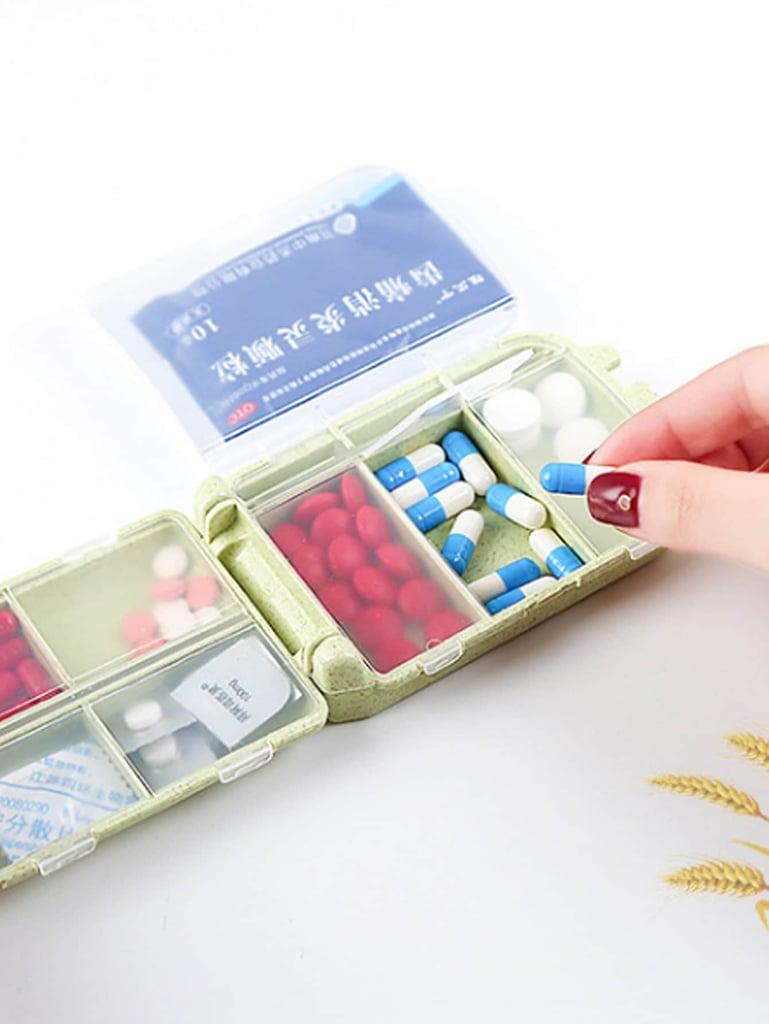 Random Color Pill Storage Box