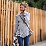 Shenae Grimes Works Out