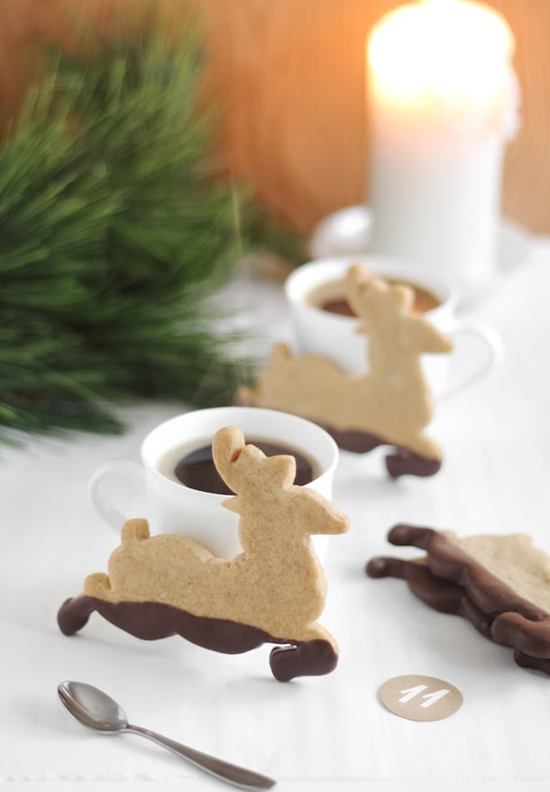 Muddy Reindeer Cookies Cookie Recipes Popsugar Food Photo 96