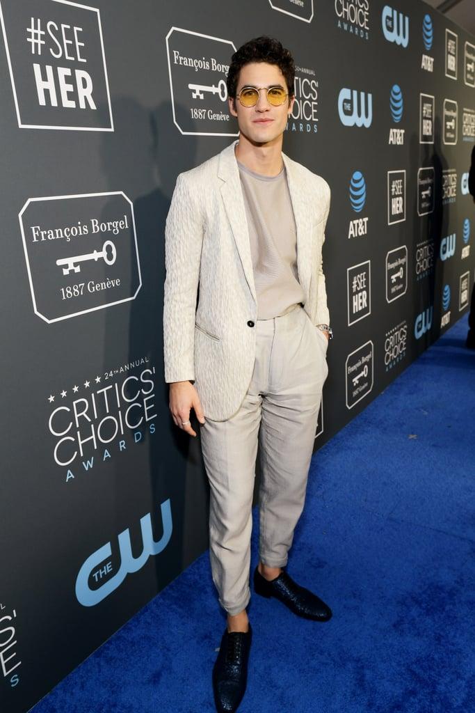Darren Criss at the 2019 Critics' Choice Awards
