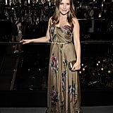 Sophia Bush in a maxi dress.