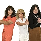 Michael Gelman, Kelly Ripa, and Art Moore get back in action as the Charlie's Angels heroines.